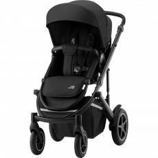 BRITAX Smile III - Essential Paketti - Space Black/Black Handle