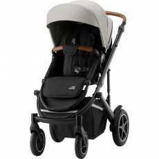 BRITAX Smile III -Essential Paketti - Pure Beige/Brown Handle