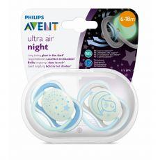 AVENT Ultra Air Night YÖ-HUVITUTIT 2 kpl/pkt 6-18 kk
