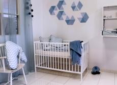 BABY DAN Comfort Sänky, Valkoinen