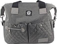 Dooky Diaper Shoulder Bag Hoitolaukku, Grey Melange