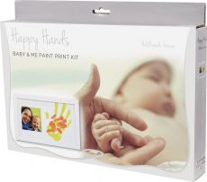 HAPPY HANDS Baby & Me PAINT PRINT setti