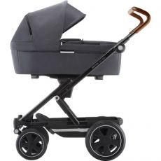 BRITAX Go Big 2 Yhdistelmävaunu Vaunukopalla Graphite Melange/Brown handle