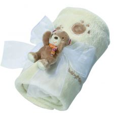 FEHN Rainbow FLEECEPEITE Teddy Tom 100 x 75 cm