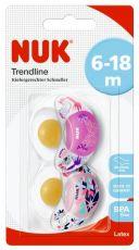 *NUK Trendline LATEX Huvitutit 6-18 kk, Blossom & Romance