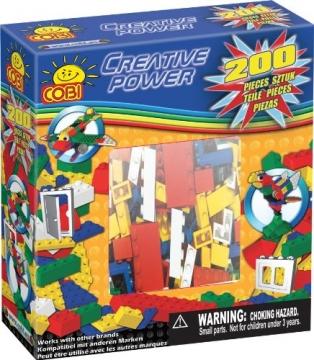 COBI Creative Power palikkasarja 200 osaa