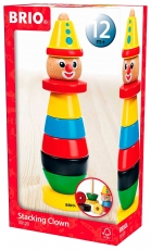 BRIO Stacking Clown Rengaspyramidi