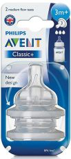 AVENT Classic+ Pullotutit Medium Flow 3m+