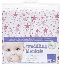 BAMBINO MIO Swaddling Blankets KAPALOLIINAT 2 kpl/pkt