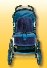 HEITMANN FELLE Aito Lampaantaljapehmuste turvaistuimeen/rattaaseen