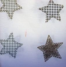Pikku Piia Pussilakana+Tyynyliina STARS, II-LAATU!