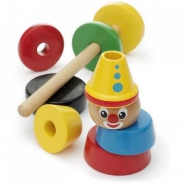 BRIO Stacking Clown Rengaspyramidi