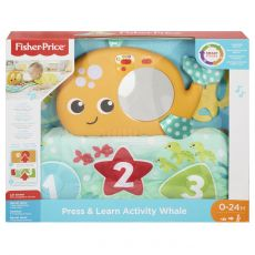 FISHER PRICE Press & Learn Activity Whale