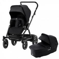 BRITAX Go Big 2 Yhdistelmävaunu Vaunukopalla Cosmos Black + Baby-Safe i Size Turvakaukalo Cosmos Black