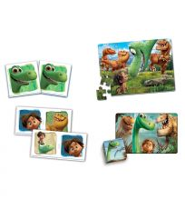 CLEMENTONI Edukit 4 in 1 The Good Dinosaur Pelisetti