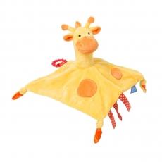 The GRO Comforter RIEPULELU pururenkaalla Gerri Giraffe