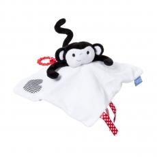 The GRO Comforter RIEPULELU pururenkaalla Morris Monkey