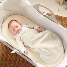 GRO COMPANY Gro Snug 2-in-1 Kapalo ja Unipussi, Light, GREY MARL
