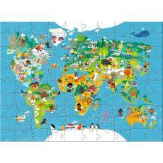 HABA Maailmankartta Palapeli 100 palaa
