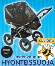 PIKKU PIIA Hyönteissuoja Vaunuun/Rattaaseen, KUVALLINEN