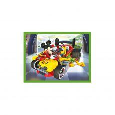 CLEMENTONI Kuutiopalapeli 12 palaa, Mickey and the Roadster Racers