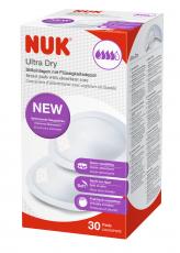NUK Ultra Dry Comfort Liivinsuojat 30 kpl/pkt