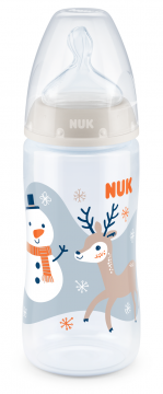 NUK First Choice+ Limited Edition PP Tuttipullo, 300ml SNOW