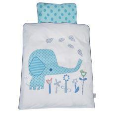BABY DAN Elefantastic Pussilakanasetti