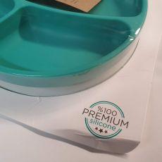 II-LAATU PAKKAUS! MINIKOIOI Portions Lautanen, 100 % silikonia