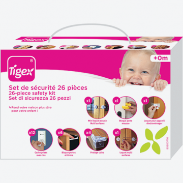 TIGEX 26-Osainen Turvapaketti