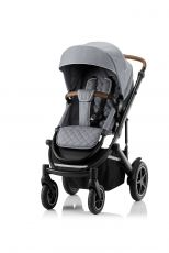BRITAX Smile III - Essential Paketti - Nordic Grey/Brown Handle