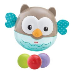 FISHER PRICE 2-in-1 Activity Chime Ball, PÖLLÖ